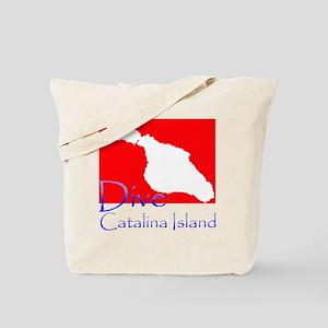 Dive Catalina Island Tote Bag