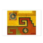 Aztec Design 1 Postcards (Package of 8)