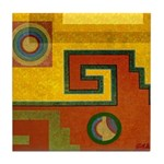 Aztec Design 1 Tile Coaster