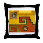 Aztec Design 1 Throw Pillow