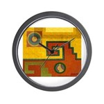 Aztec Design 1 Wall Clock