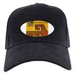 Aztec Design 1 Black Cap