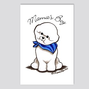Bichon Mama's Boy Postcards (Package of 8)