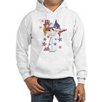 4th of July Martini Girl Hooded Sweatshirt