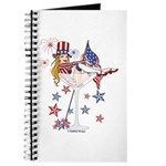 4th of July Martini Girl Journal