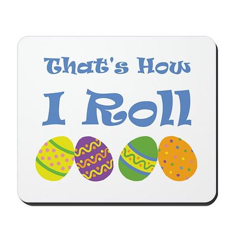 Easter Egg Roll Mousepad