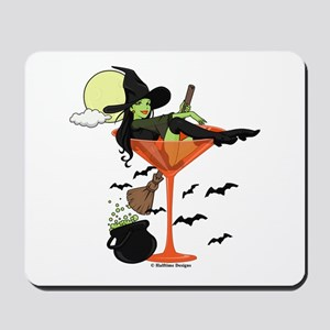 Halloween Martini Girl Mousepad