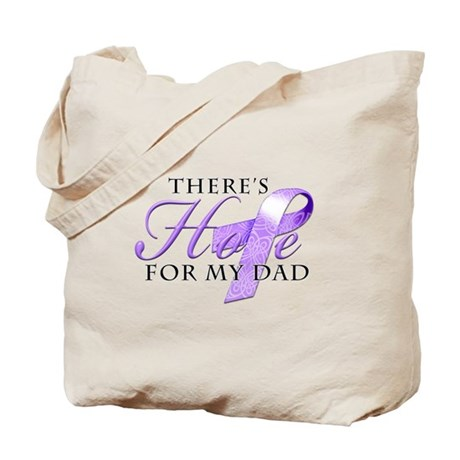 There's Hope for my Alzheimer's Dad Tote Bag
