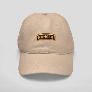 Ranger Tab Black & Gold Cap