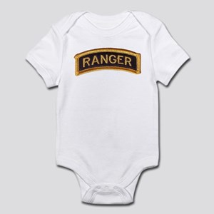 Ranger Tab Black & Gold Infant Bodysuit