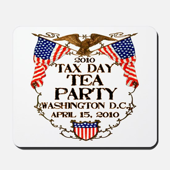 Tax Day Tea Party Mousepad