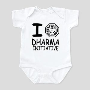 I Love Dharma Initiative Infant Bodysuit