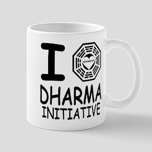 I Love Dharma Initiative Mug