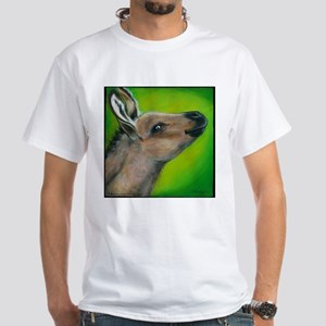 "Donkey ""Snickers"" White T-Shirt"