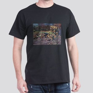 Beagle Art Dark T-Shirt