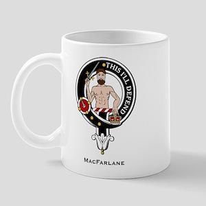 MacFarlane Clan Crest Badge Mug