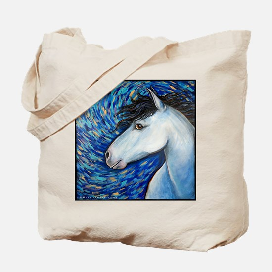 "White Horse ""Bianca"" Tote Bag"