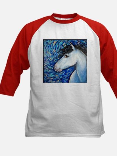 "White Horse ""Bianca"" Kids Baseball Jersey"