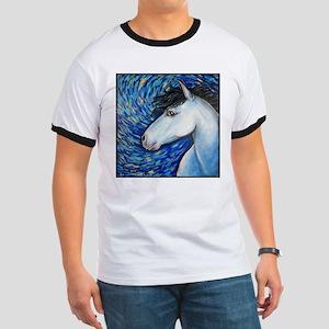 """White Horse """"Bianca"""" Ringer T"""