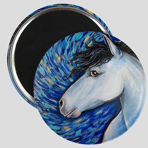 "White Horse ""Bianca"" Magnet"