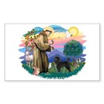 St Francis #2 / PWD (stand) Sticker (Rectangle 10