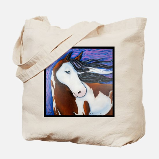 "Paint Horse ""Luna"" Tote Bag"