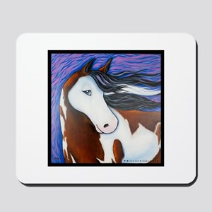 "Paint Horse ""Luna"" Mousepad"