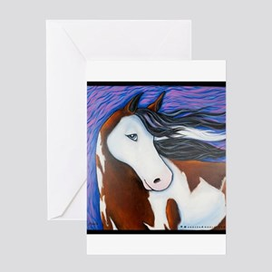 "Paint Horse ""Luna"" Greeting Card"