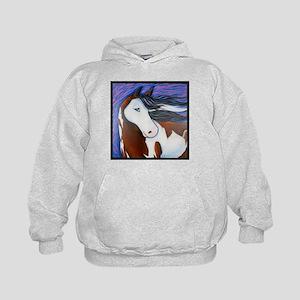 """Paint Horse """"Luna"""" Kids Hoodie"""