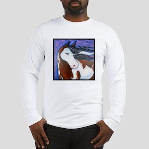 """Paint Horse """"Luna"""" Long Sleeve T-Shirt"""