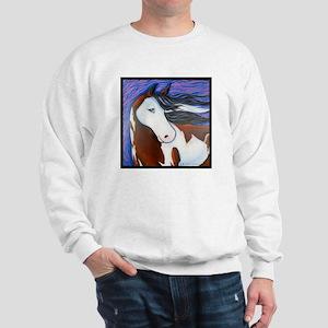 "Paint Horse ""Luna"" Sweatshirt"