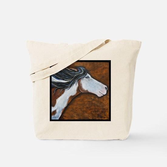 "Paint Horse ""Golden Luna"" Tote Bag"