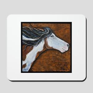 """Paint Horse """"Golden Luna"""" Mousepad"""