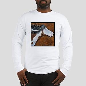 """Paint Horse """"Golden Luna"""" Long Sleeve T-Shirt"""
