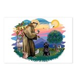 St Francis #2 / PWD (sit) Postcards (Package of 8)