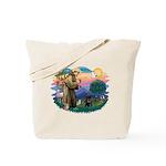 St Francis #2 / PWD (sit) Tote Bag