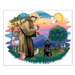 St Francis #2 / PWD (sit) Small Poster