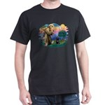 St Francis #2 / PWD (sit) Dark T-Shirt