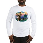 St Francis #2 / PWD (sit) Long Sleeve T-Shirt