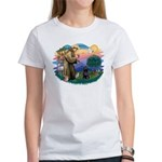 St Francis #2 / PWD (sit) Women's T-Shirt