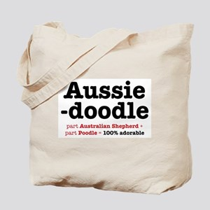 Aussiedoodle - Dog Tote Bag Tote Bag