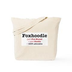 Foxhoodle - Dog Tote Bag Tote Bag