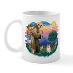 St Francis #2 / Pomeranian (#1) Mug
