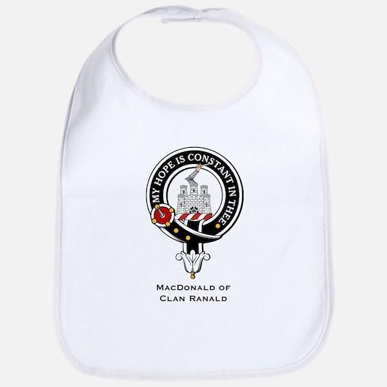 MacDonald Clan Ranald Crest Bib