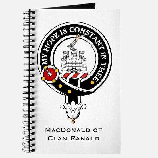 MacDonald Clan Ranald Crest Journal