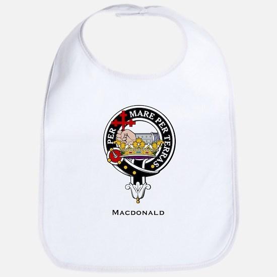 MacDonald Clan Crest Badge Bib