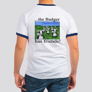 Don't mess with the Badger! 2-sided Knight Shirt