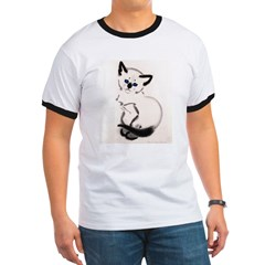 Siamese Cat Art T