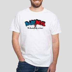 $19.99 Classic Dare Devil Logo White T