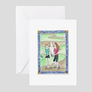 Friendship Walk Greeting Cards (Pk of 20)